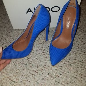 Aldo Royal Blue- high heels